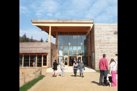 The Dalby Forest visitor centre